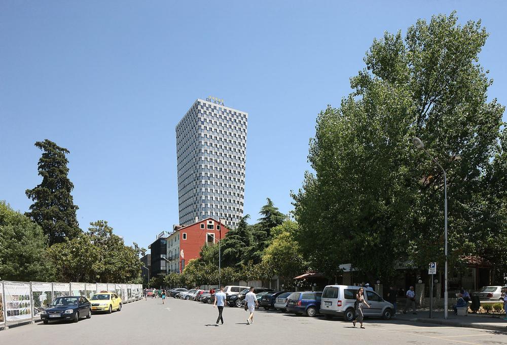 Башня TID<br>Фото © Filip Dujardin