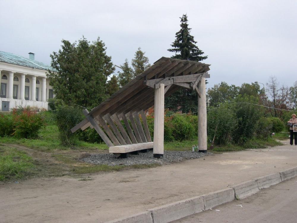 «Древолюция 2003» на заводе под Галичем<br>© Древолюция