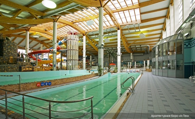 Waterville aquapark, construction, 2004-2006<br>Copyright: © A-Len