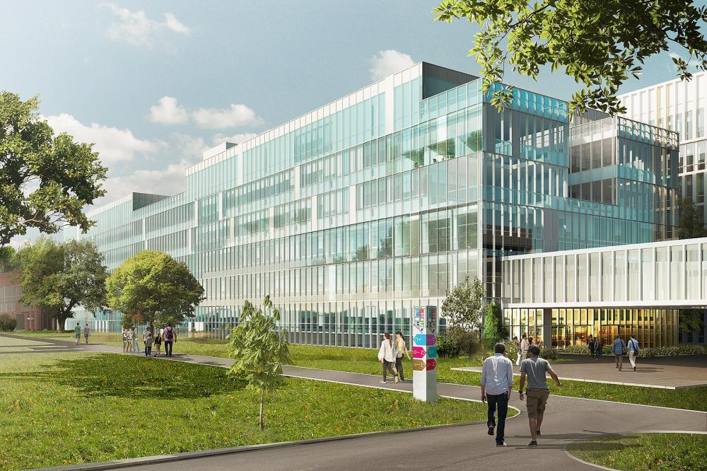 "Multipurpose medical center ""Novomoskovsky"" in Kommunarka<br>Copyright: © Reserve Union"