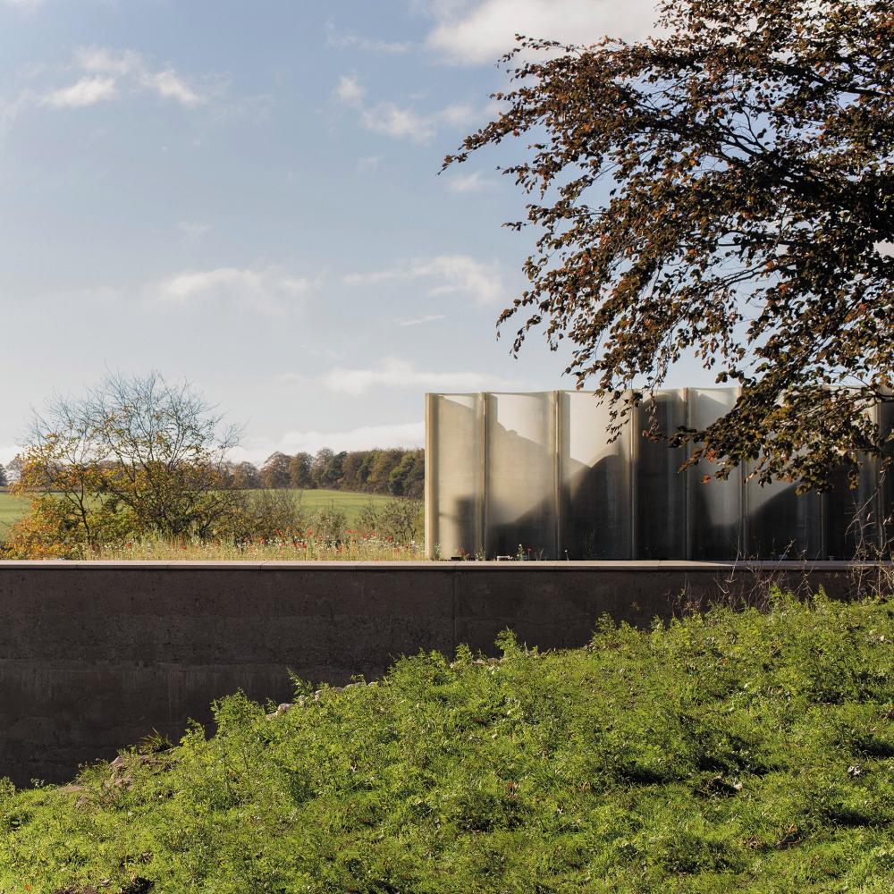 Посетительский центр и галерея The Weston Йоркширского парка скульптур<br>Фото © Mark Fleming