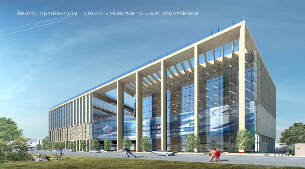 Центр единоборств, концепция, 2019<br>© АБ ASADOV
