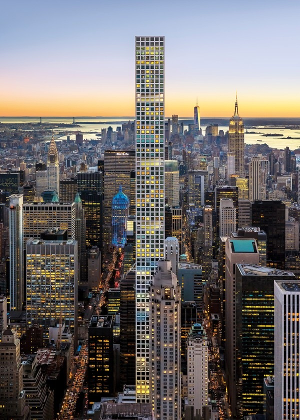 Жилой небоскреб 432 Park Avenue. Архитектор Рафаэль Виньоли<br>Фото © Halkin Mason