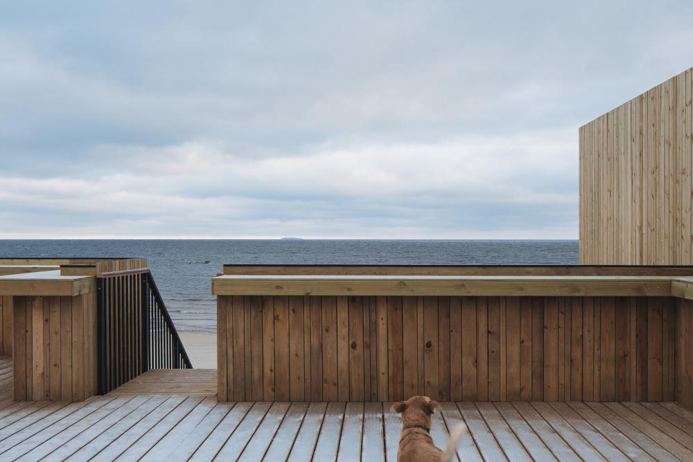 Павильон-гостиная «Точка на Карте». Фотография<br>© Дмитрий Цыренщиков