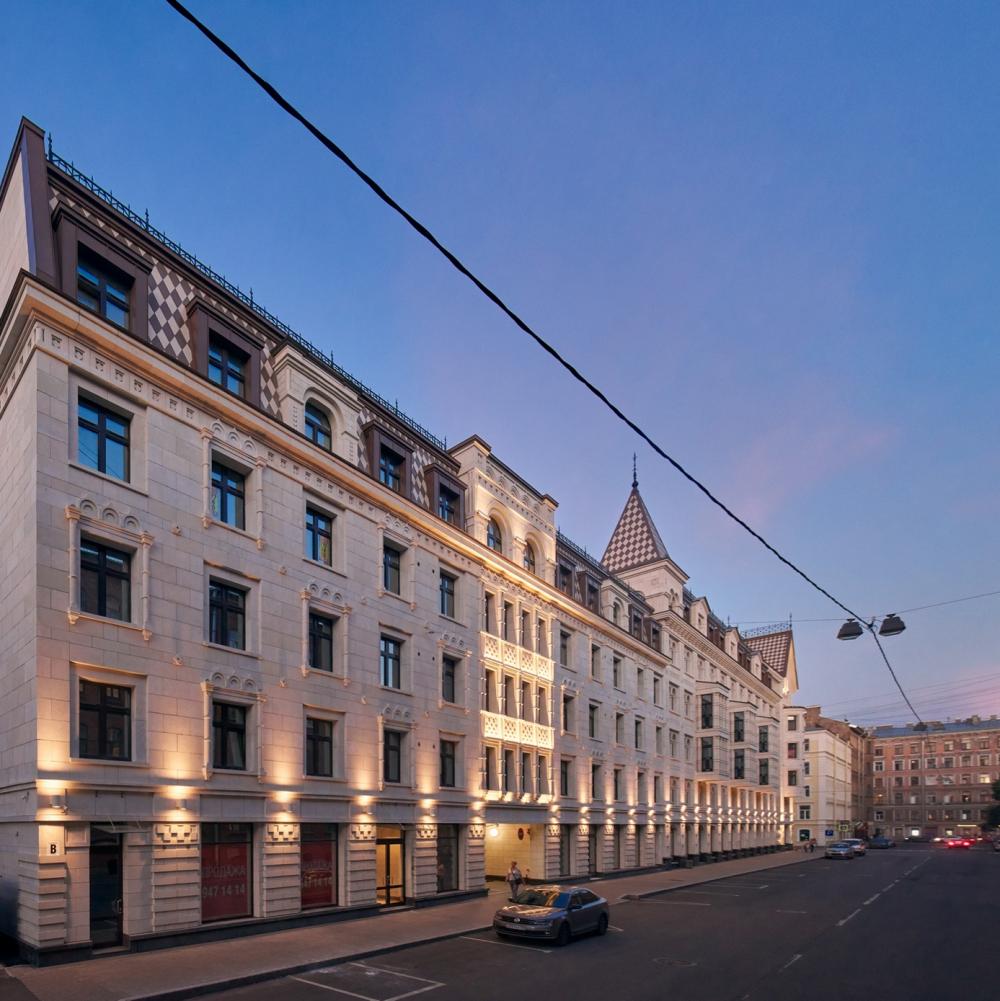 Жилой комплекс «Русский дом». «Евгений Герасимов и партнеры» <br>Фотография © Андрей Белимов-Гущин