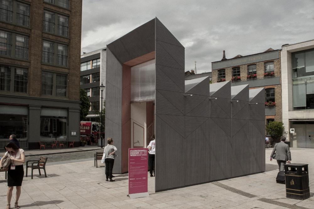Павильон Smith' в Лондоне. Фото © Philip Vile<br>Studio Weave