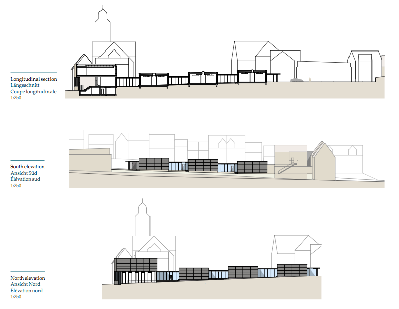 Технопарк в Альбштадте. Изображение предоставлено  Equitone<br>Roth Architekten