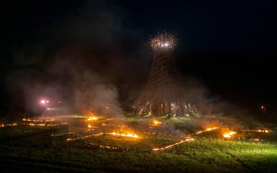 Опера «Блуждающие огни»<br>Фотография ©пресс-служба фестиваля Архстояние