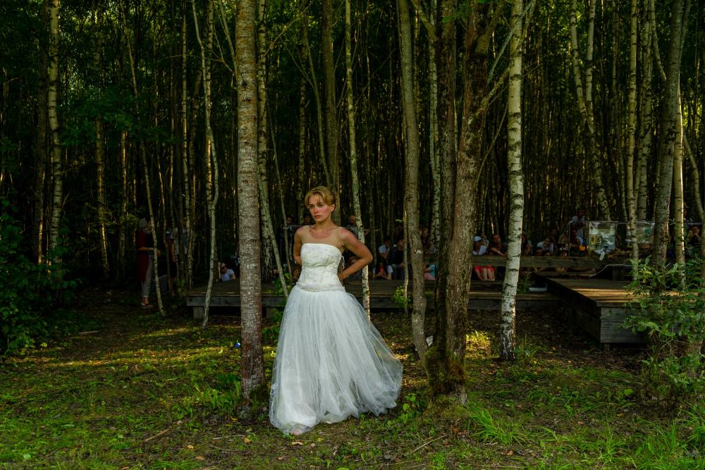 Опера «WWW» World Wooden Web»<br>© пресс служба фестиваля Архстояние