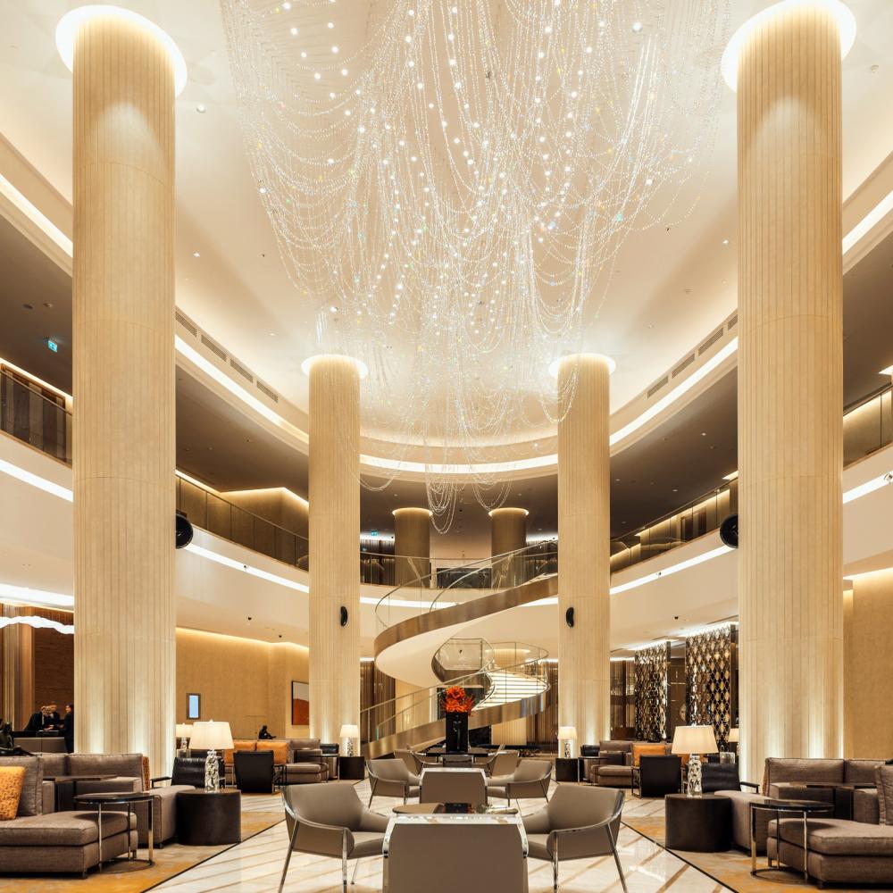 ВТБ Арена Парк: Hyatt Regency<br>Фотография © Сергей Кротов. Дизайн интерьеров: Ara design