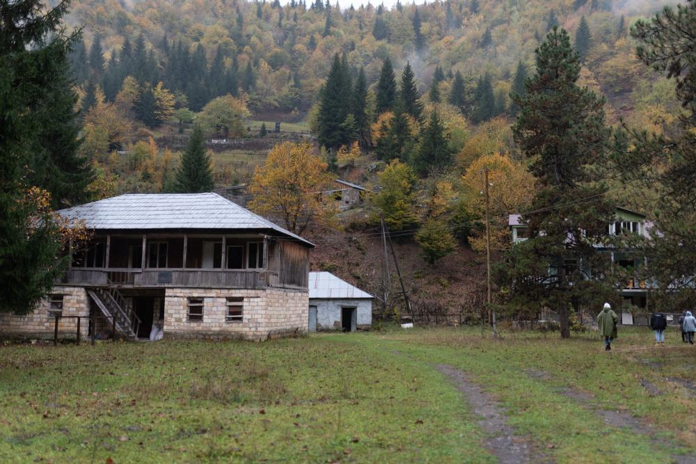 Альплагеря в поселке Лентехи<br>Фотография предоставлена ЯГТУ