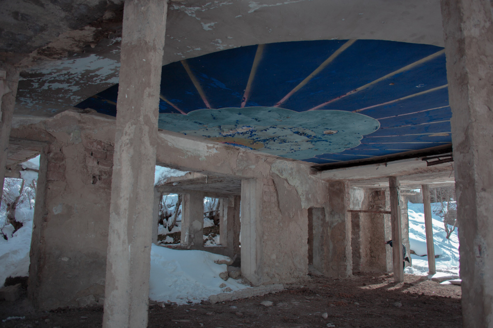 Альпинистский лагерь «Сванетия» в Местии<br>Фотография предоставлена ЯГТУ