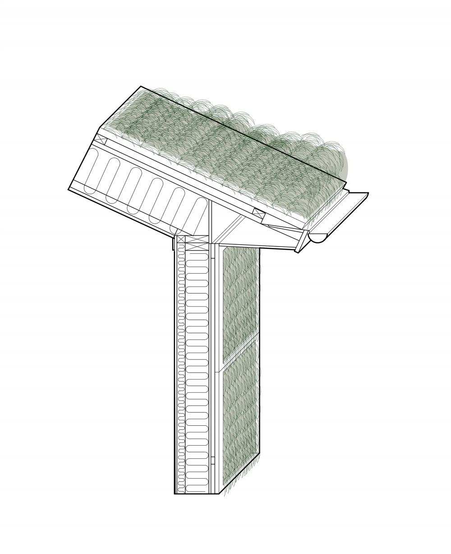 Проект «Архитектура из морских водорослей» / Seaweed Architecture<br>Изображение предоставлено Кэтрин Ларсен
