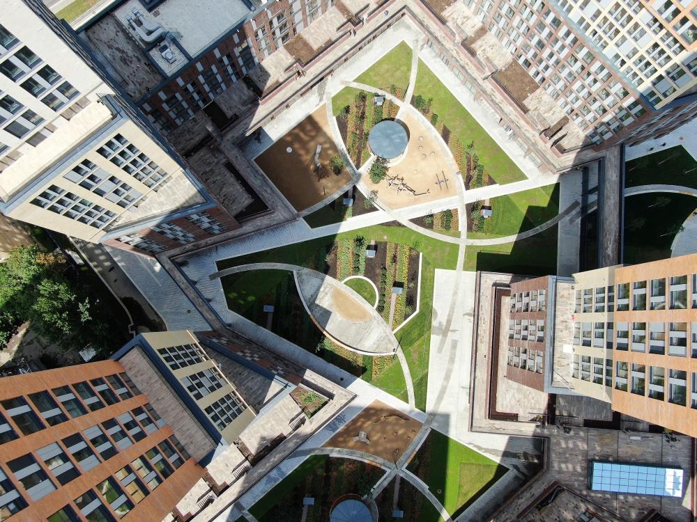 Жилой комплекс Vander Park в Москве<br>Фотография © Даниил Анненков. Предоставлено компанией Hagemeister