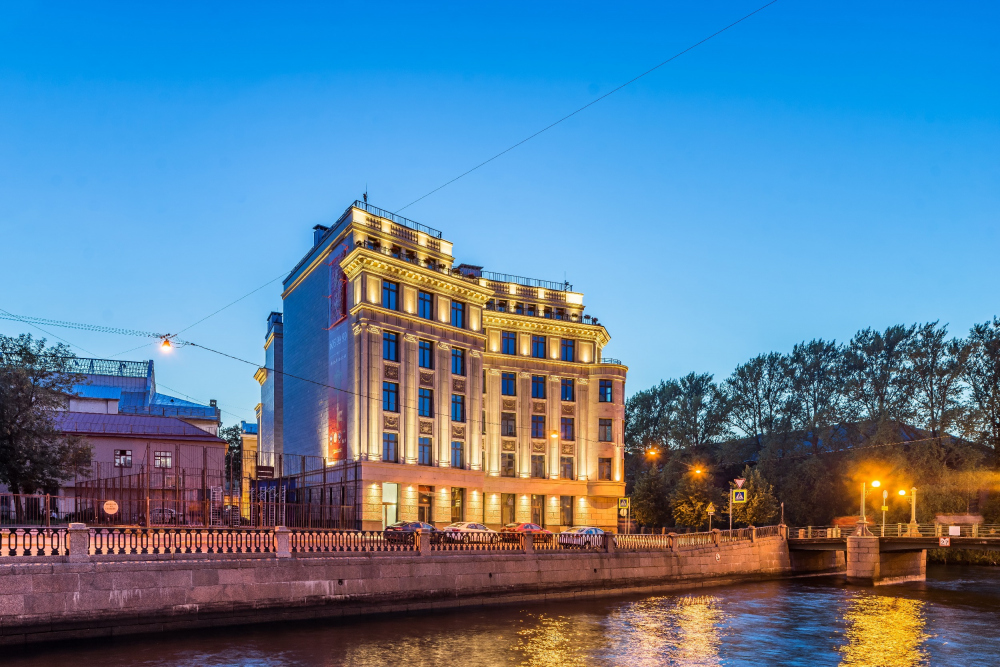 Art View House on the Moika Waterfront<br>Photograph © Andrey Belimov-Gushchin / Evgeniy Gerasimov & partners