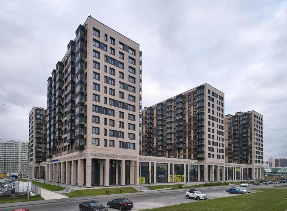 """Residential complex """"LEGENDA Dalnevostochnogo""""<br>Copyright: Evgeny Gerasimov and Partners © Photograph: Andrey Bekimov-Gushchin"""