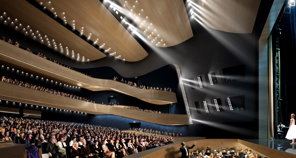 "The main theater and concert complex of the Moscow Region ""Tchaikovsky′s Universe"". <br>Copyright: © 4izmerenie"