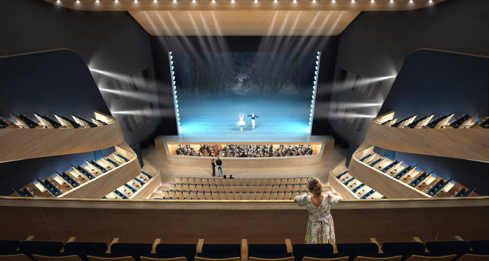 """The main theater and concert complex of the Moscow Region """"Tchaikovsky′s Universe"""". <br>Copyright: © 4izmerenie"""