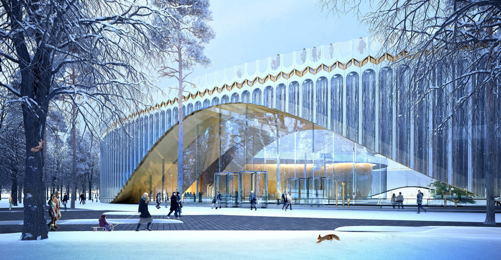 """The main theater and concert complex of the Moscow Region """"Tchaikovsky′s Universe"""".<br>Copyright: © 4izmerenie"""