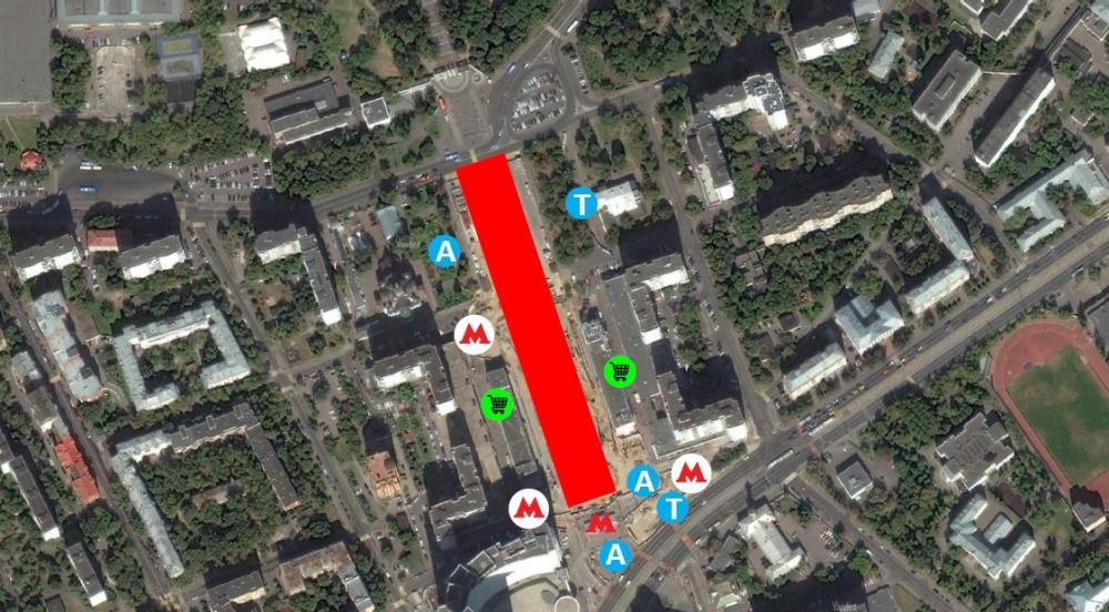 Пешеходная зона. Стромынка<br>© Megabudka