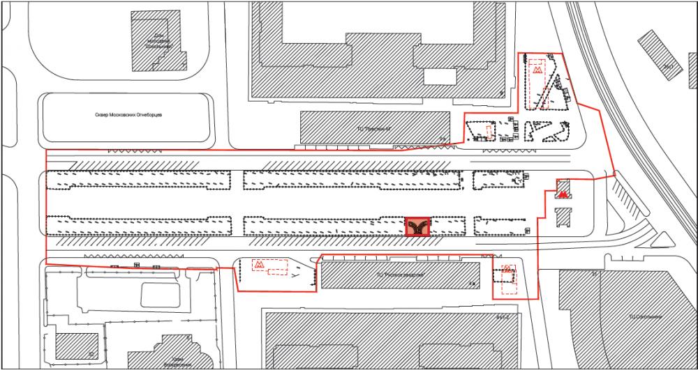 Сокольническая площадь<br>© Megabudka