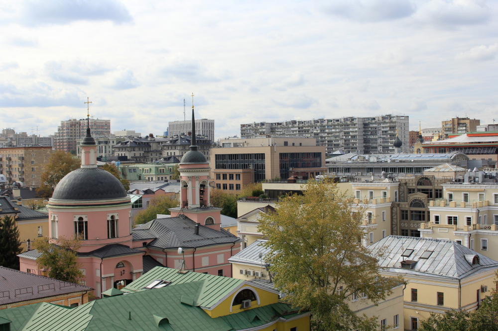 View of the operated roof of the Malaya Ordynka, 19 housing project<br>Copyright: Photograph: Archi.ru
