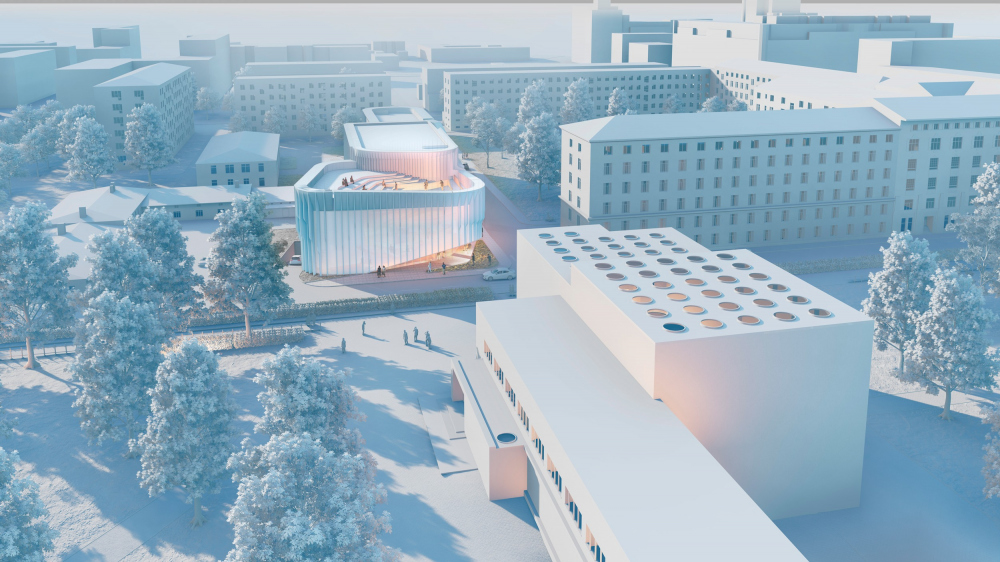 The music school with a concert hall in Vyborg<br>Copyright: © A-Len Architectural Bureau