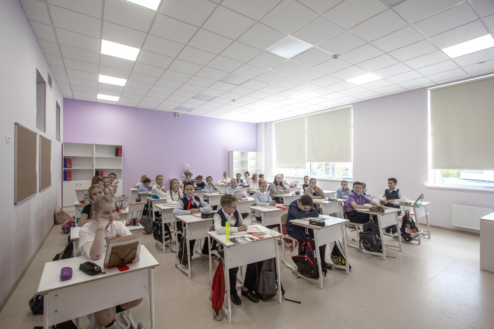 General education school for 275 students<br>Copyright: Photograph © Andrey Asadov
