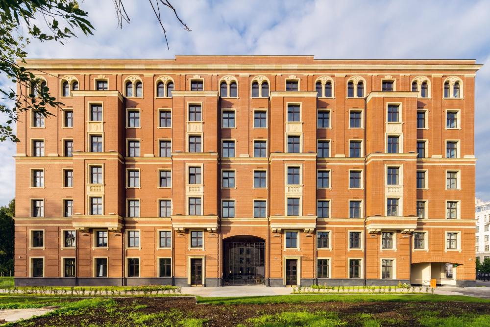 """Verona"" housing complex, 2018<br>Copyright: Photograph © Andrey Belimov-Gushchin / Evgeniy Gerasimov and Partners"