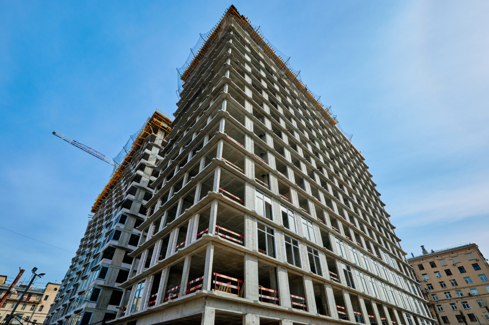High-end residential complex Vitality: construction, 2020<br>Copyright: Photograph: Larus Capital