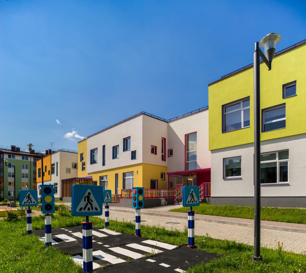 Kindergarten #47 of the Pushkinsky District of St. Petersburg<br>Copyright: © A.Len