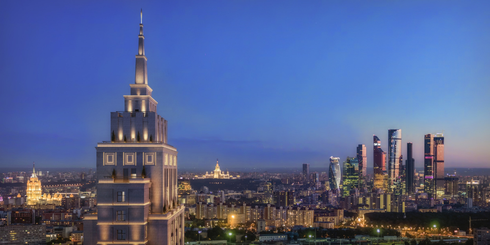 The apartment complex Alcon Tower and the mixed-use development Alcon III<br>Copyright: © Alcon Group