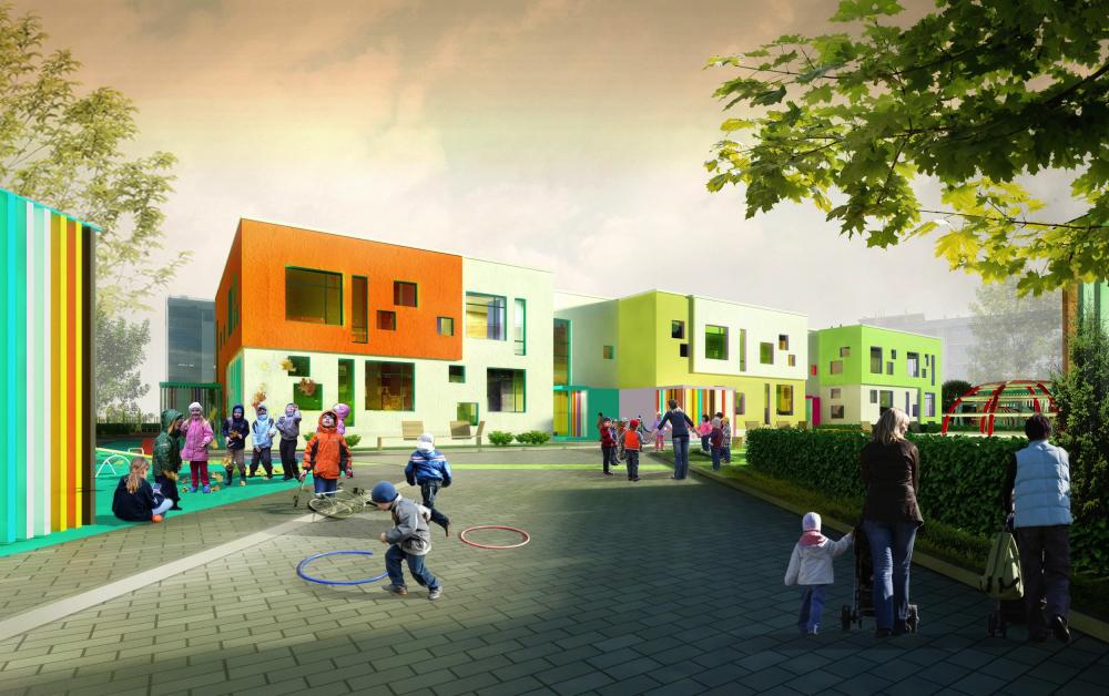 The final vesrsion of the kindergarten<br>Copyright: © A.Len