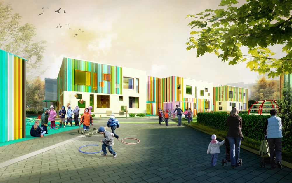 One of the early versions of the kindergarten<br>Copyright: © A.Len