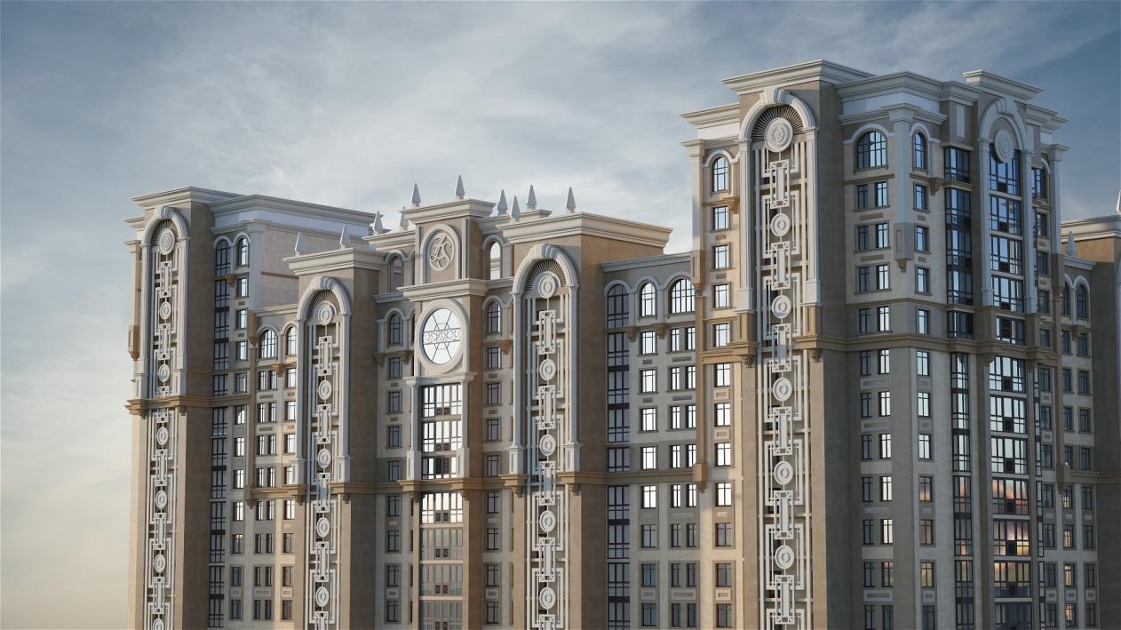 ЖК «Династия» в Москве получил декор от «ОртОст-Фасад»