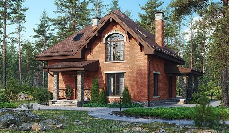 Готовые проекты загородных домов от компании Wienerberger. А бонус от Wienerberger – архитектурный проект игрового домика для детей