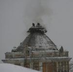 В Перми загорелся купол художественной галереи