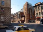 На месте Пушкарских бань начинают строить стеклянное здание