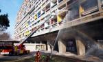 Жильцы подожгли памятник архитектуры