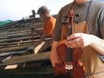 Скрипка и немного демонтажа