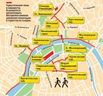 В центре столицы появится сразу несколько пешеходных улиц