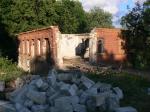 Снос дома по улице Гремячьей в Пскове