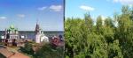 Заросшие достопримечательности России или Когда деревья были маленькими