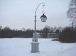 В Елагиноостровском дворцово-парковом ансамбле отреставрированы чугунные фонари-торшеры запроектировнные Карлом Ивановичем Росси