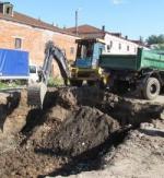 В Калуге археологи начали раскопки на территории Гостиных рядов