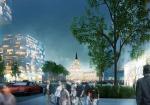 Конкурс «Большая Москва»: Музей в Кремле, спа-курорты в Подмосковье, трамваи вместо машин и другие идеи архитекторов
