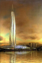 Задуманная башня расщепляет почтенный русский город