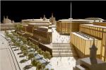 Торговый молл имперского масштаба в центре Москвы и вид на Кремль