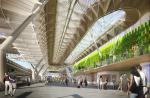 Зеленые стены для аэровокзала