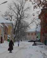 Водовозный переулок в Коломне